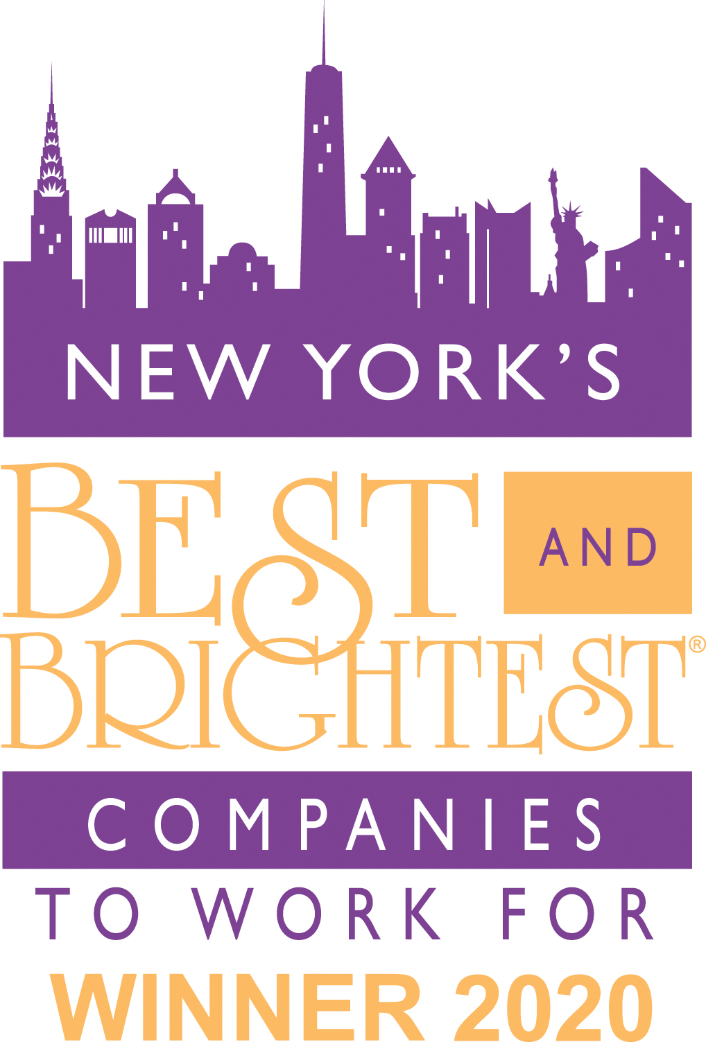 New York Best & Brightest Company to Work for 2020​