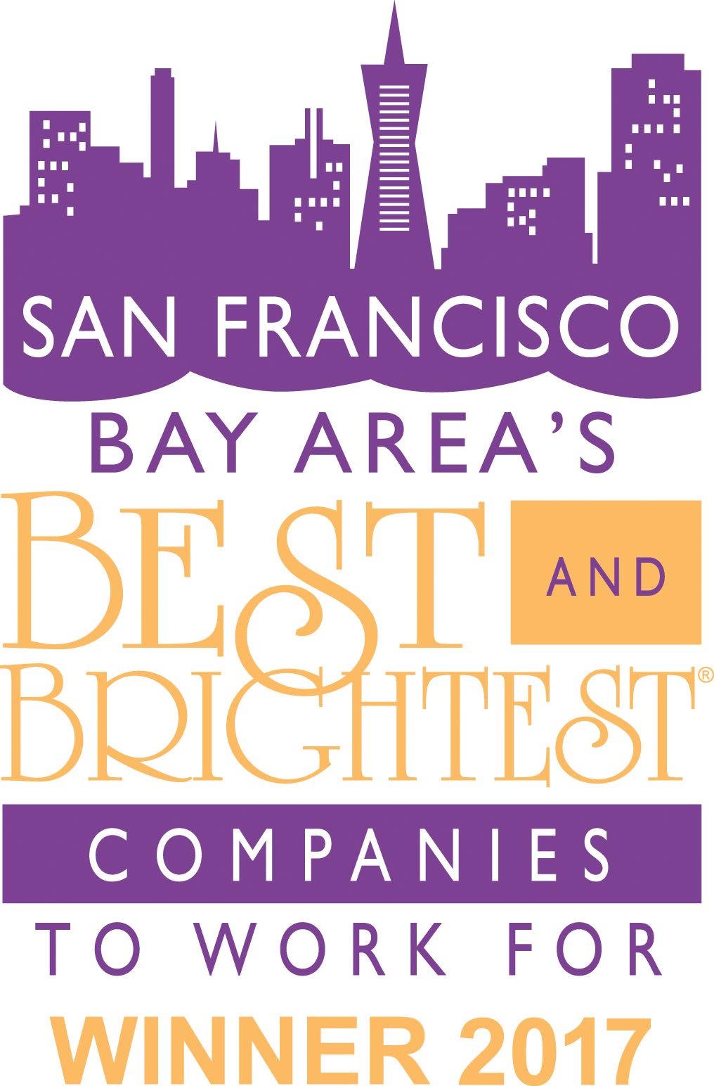 San fran- best and brightest to work for 2018