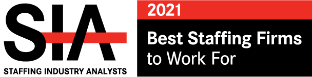 SIA Best Staffing Firms to Work 2021